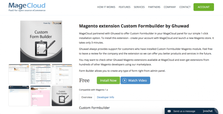 Form builder by Ghuwad