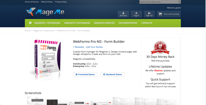 WebForms Pro by MageMe