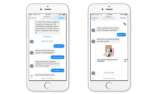 Nordstrom ecommerce chatbot