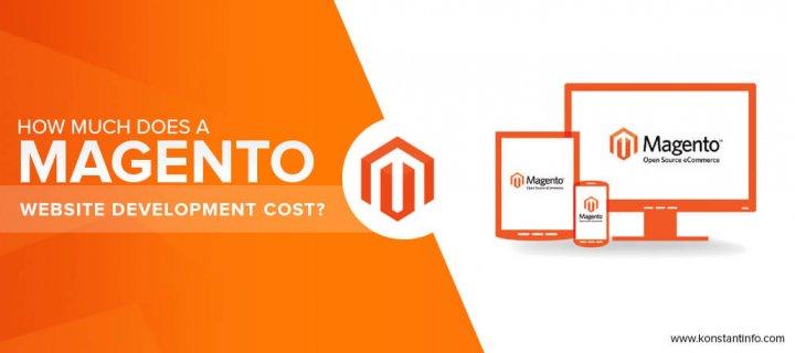 Magento website cost