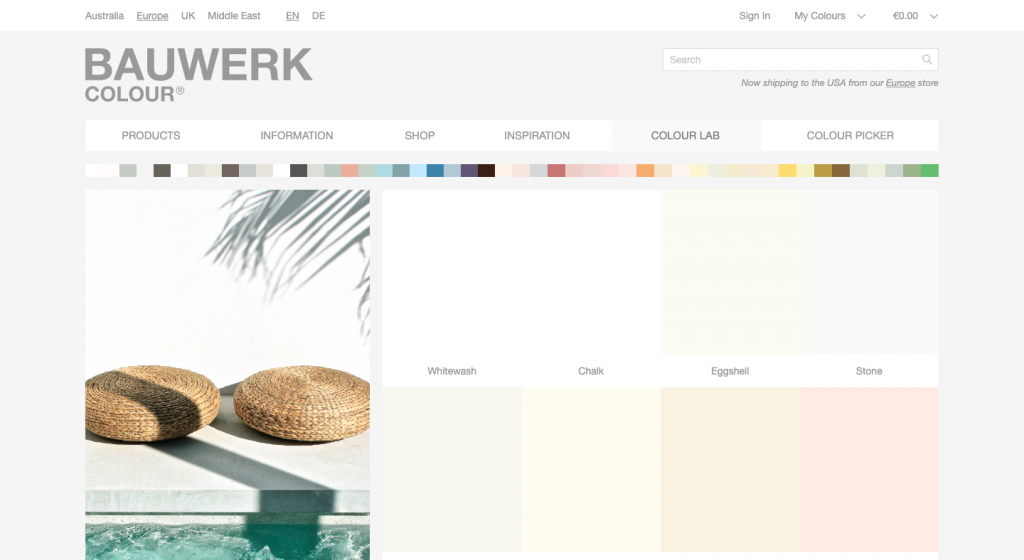 Bauwerk Colour shop