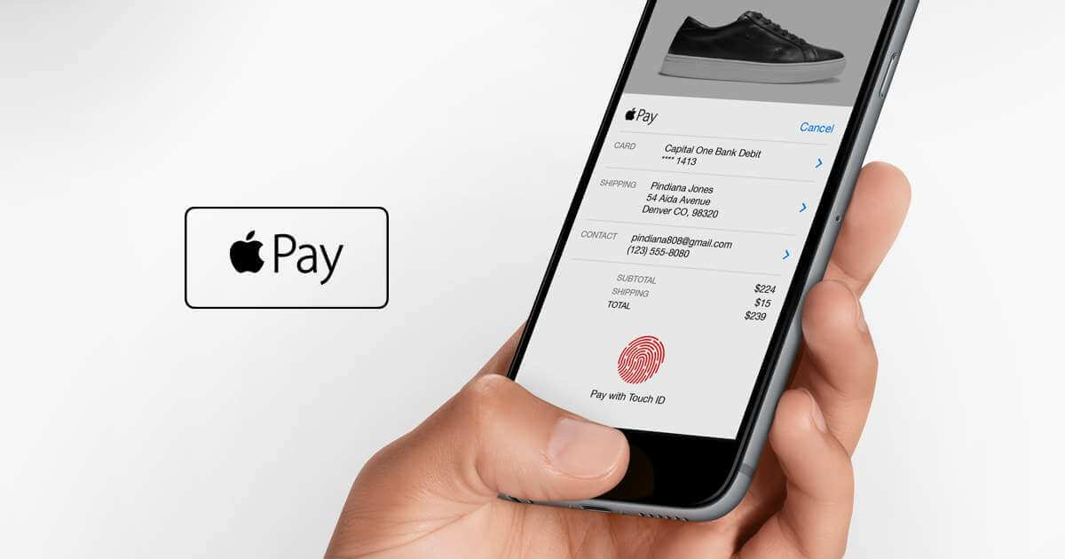 Checkout with Apple Pay for Ecommerce Websites: How to Capture More Orders from Mobile Devices