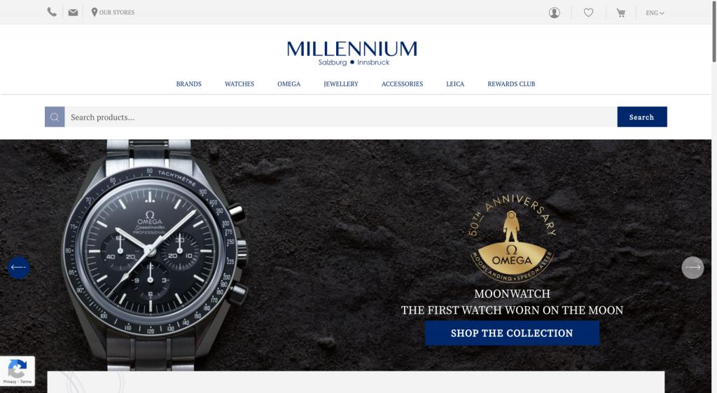 Millennium shop