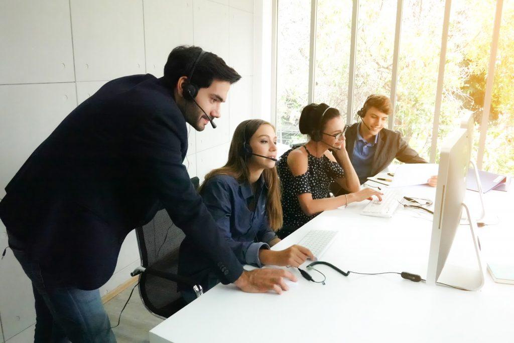 Training sales team