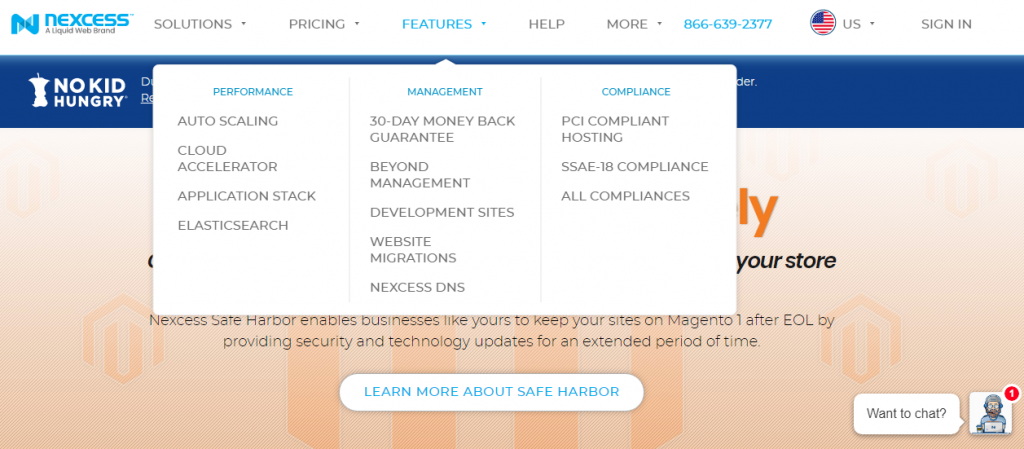 Nexcess hosting provider