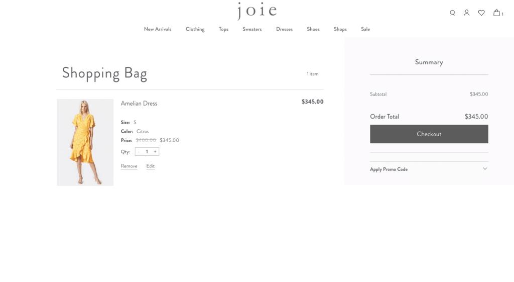 Joie shop