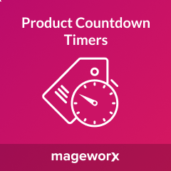 Mageworx Product Countdown Timers
