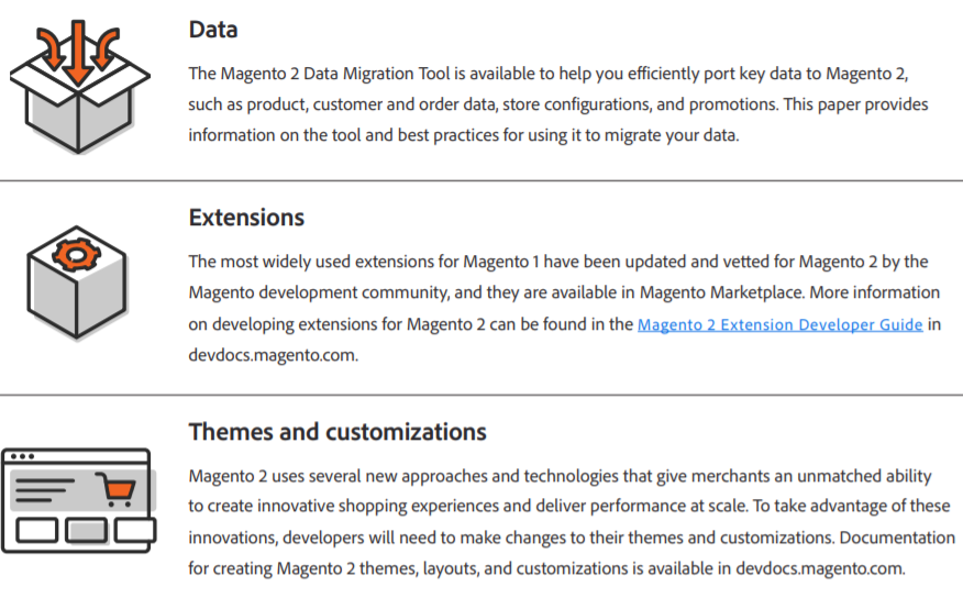 Magento 2 Migration Technical Overview