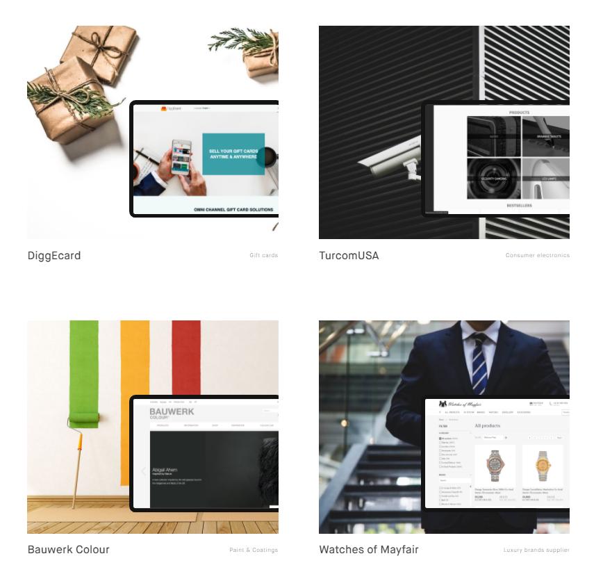 Find a Magento partner: Elogic portfolio