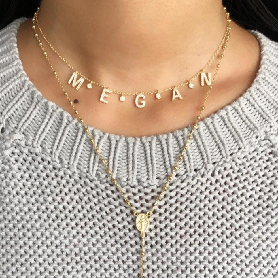"""An item of personalized jewelry - a necklace 'Megan"""""""