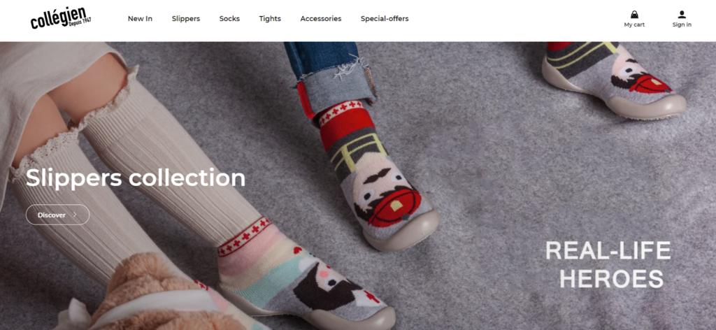 Collégien website screenshot